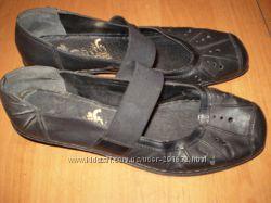 кожаные  туфельки  ф.  Rieker  размер  39 -  25  см
