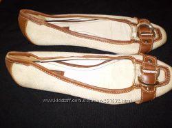 джинсовые  балетки  ф.  Zara  для  худой  ножки  размер    41 --  26  см  д
