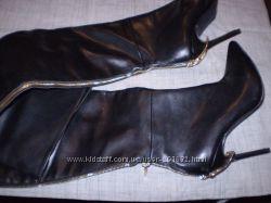 стильные  ботфорты  ф.  Tomford  размер  39  -  25 см