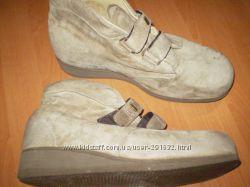 замшевые  ботинки  для  большой  ножки  длина  стельки  31  см