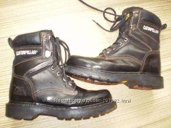 кожаные  ботинки  ф.  Caterpillar  размер 38  -   25см