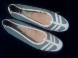 замшевые  туфельки  на  узкую  ножку  размер  38. 5 ф. La  Strada  -  26  cм
