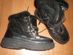 зимние  ботиночки  Mounty  размер  37  -  24. 5  см