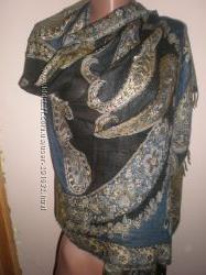 шикарный  шарф  палантин  размер  200  х  70