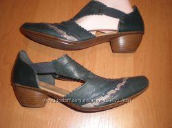 40 - 26 см  кожаные  туфли ф. Rieker