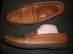7 - 27 см  кожаные  мокасины ф. Clarks