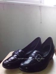 Кожаные туфли Ramarim новые, обуты 1 раз 39 размер
