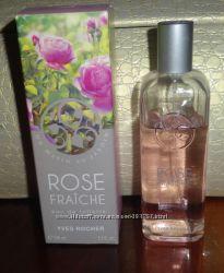 Rose Fraiche Yves Rocher, 100мл туалетная вода Свежая Роза Ив Роше