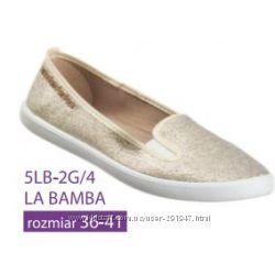 Текстильные балетки 3F