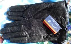 Перчатки натуральная кожа с утеплителем