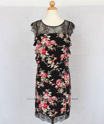 Эффектное шелковое платье Oasis оригинал - на праздник или свидание