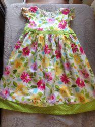 Наше цветочное платье Laura Ashley