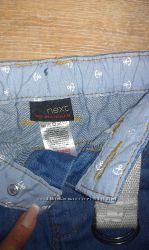 Крутые джинсовые шорты NEXT и Rebel как новые