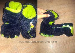 Домашние тапочки лапы дракоши