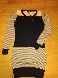 Top Secret красивое платье морской расцветки