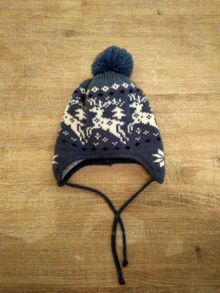 Тёплая польская шапка Tu tu