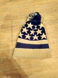 Крутая шапка со звездами