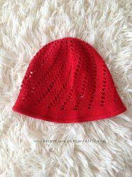Панамка, летняя вязаная шапка