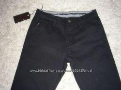 Теплые Мужкие джинсы  на флисе Varxdar черные р 29