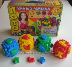 Куб многофункциональный Умный малыш ТМ Технок, бу