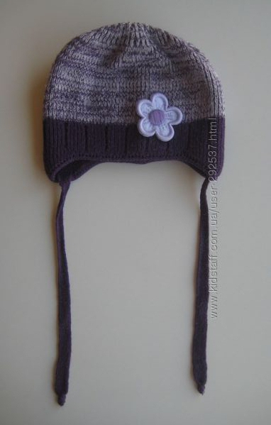 Шапка Mir Mar и перчатки, размер 2-3 года, бу