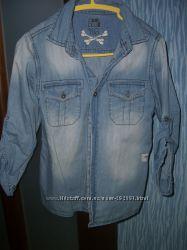 Джинсовая рубашка cool-club