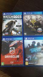 Игры для PS4, оригинальные диски