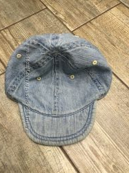 Джинсовая кепка на 3-5 лет