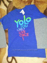Регланы, футболки crazy8 на 3-5 лет для мальчика