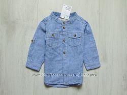 Новая рубашка для мальчика. H&M. Размер 6-9 месяцев