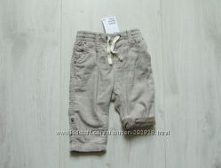 Новые стильные штаники для мальчика. H&M. Размер 6-9 месяцев
