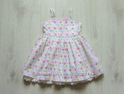 Шикарное нарядное платье для принцессы. Cherokee. Размер 9-12 месяцев