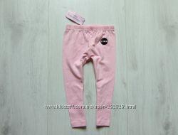 Новые розовые леггинсы для девочки. Y. D. Размер 9-12 месяцев