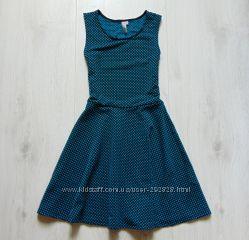 Яркое шикарное платье для девочки. Y. D. Размер 12-13 лет