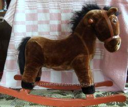Немецкая лошадь-качалка из каталога Neckermann интерактивная