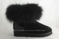 зимние ботинки сапоги Украина кожа гарантия UGGI