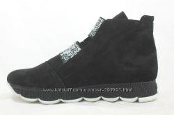 зимние ботинки сапоги Украина кожа гарантия