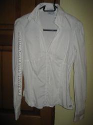 Белые блузки  , размер S