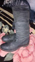кожаные сапоги стелька 26 см