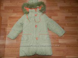 Яркое зимнее пальто Bilemi р. 128