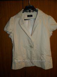 Нарядный летний пиджак H&M р. M-L