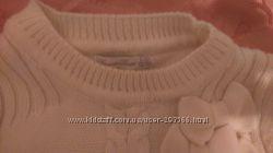Теплый нарядный свитерок