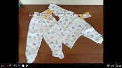 &nbspНовые распашенка и ползунки для новорожденного.