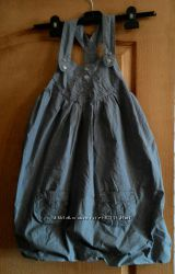 Стильный сарафан-колокольчик из приятной ткани