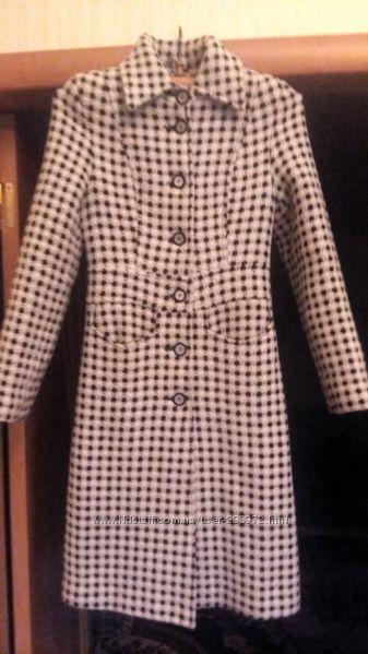 Пальто женское шерстяное теплое