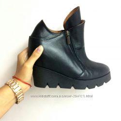 Ботинки кожаные, популярная модель