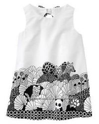 Стильное платье Gymboree