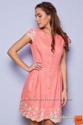 Идеальный вариант для жаркого лета - натуральное льняное платье Тм Raslov