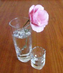 12 оригинальных стеклянных  рюмок-стопок-стаканчиков Becherovka. 50 мл