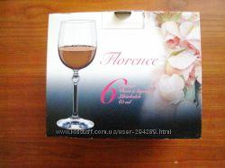 Рюмки для водки или ликера 60 мл Florence, Bohemia 6 шт. Чехия